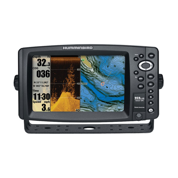 959ci High Definition Fish Finder with Down Imaging and GPS - Humminbird