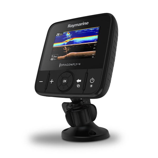 Dragonfly 4PRO Raymarine Fish Finder With CHIRP Sonar