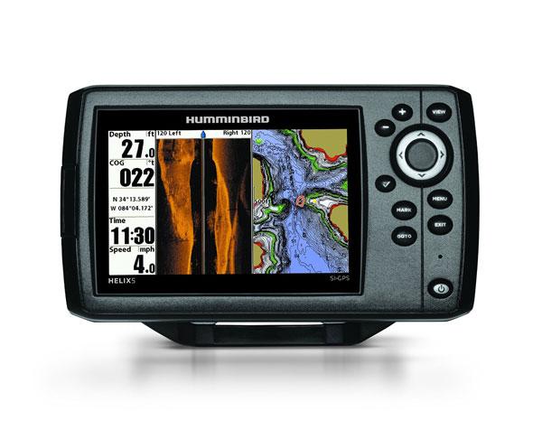 HELIX 5 GPS Side Imaging Fish Finder