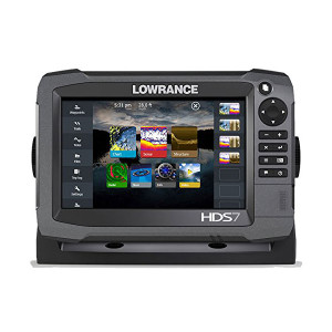HDS7 Gen3 Lowrance GPS and Fish Finder Combo