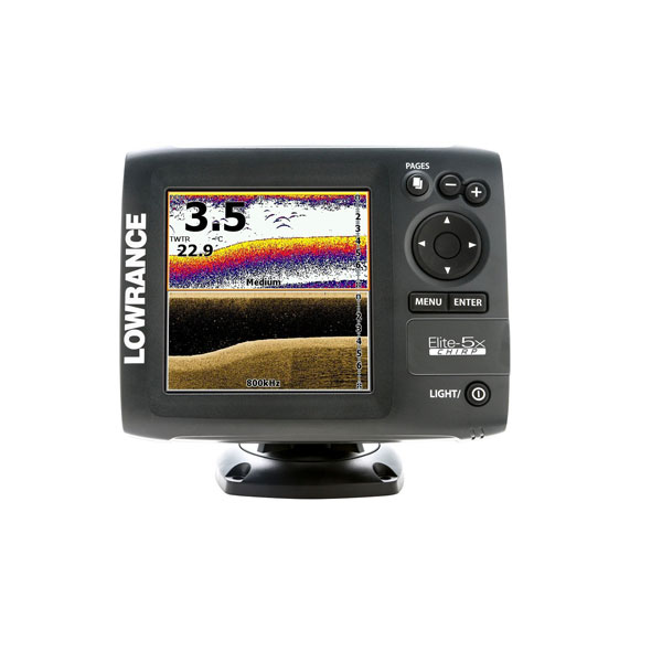 Lowrance Elite 5x Chirp Review Fish Finders Advisor
