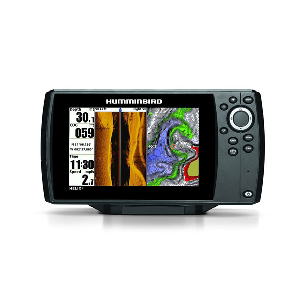 helix7 side imaging gps combo
