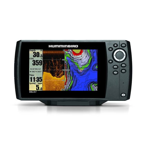 humminbird helix 7 di gps review | fish finders advisor, Fish Finder