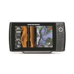 helix 10 side imaging fish finder and gps