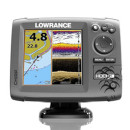 Lowrance HOOK-5 CHIRP DownScan with BaseMap