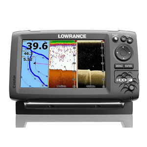 Lowrance HOOK-7 CHIRP DownScan with BaseMap Review | Fish Finders