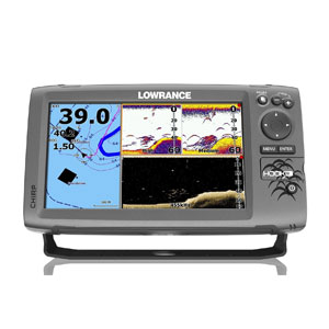 Lowrance HOOK-9 CHIRP DownScan With BaseMap Review | Fish Finders