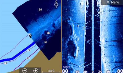 StructureMap and SideScan View