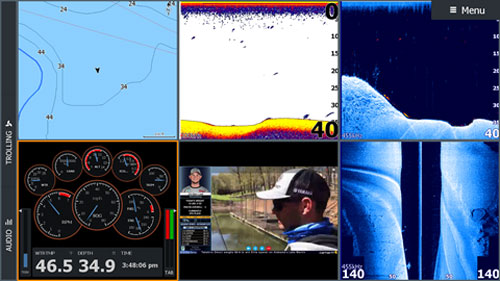 Lowrance HDS-16 Live Active Imaging 3-in-1 C-MAP Enhanced